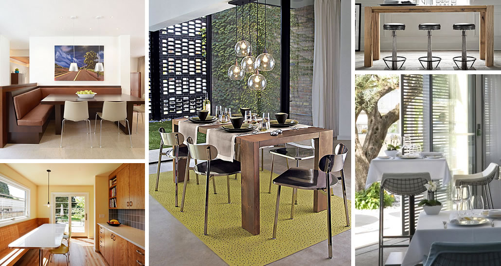 Chic Restaurant Tables And Chairs For The Modern Home - Modern restaurant furniture