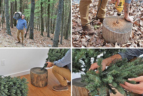 Christmas tree stand