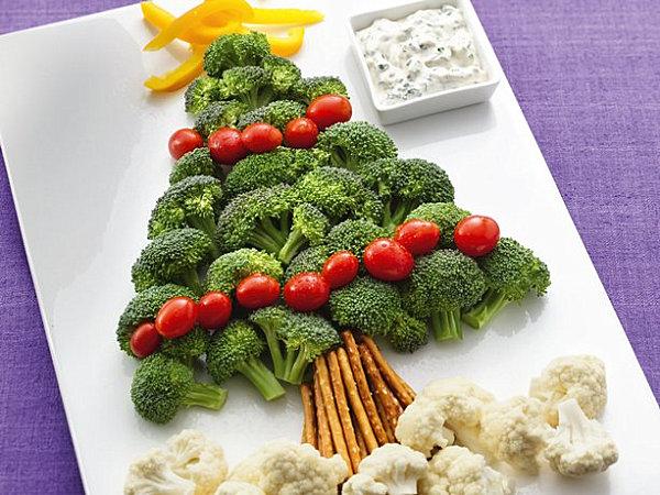 Christmas-tree-veggie-platter