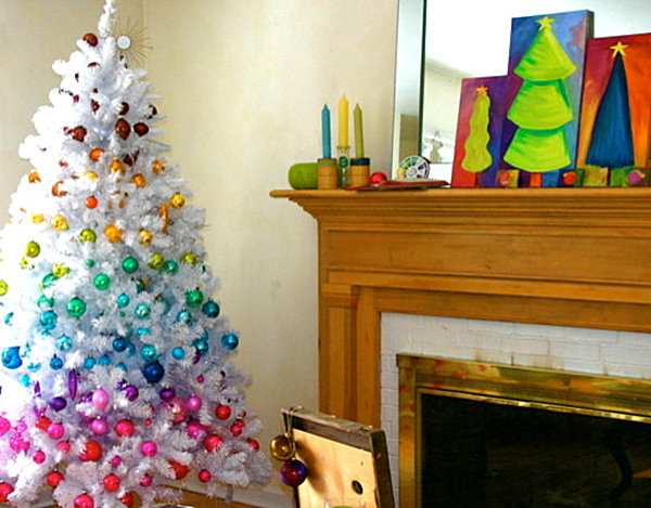 View In Gallery Chromatic Christmas Decorations