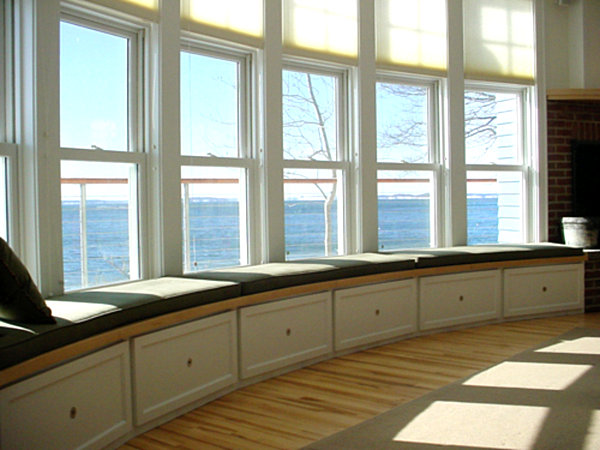 gallery for kitchen bay window seat