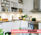 Colorful Scandinavian kitchen ideas