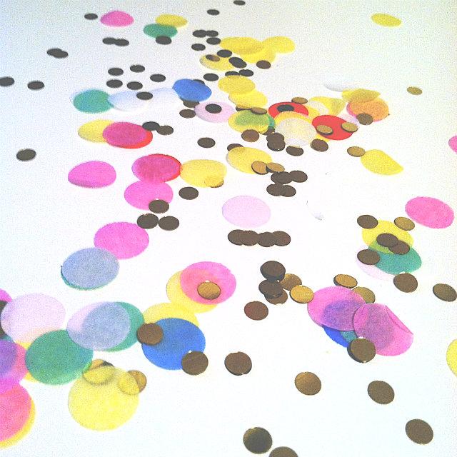 Confetti for a festive party