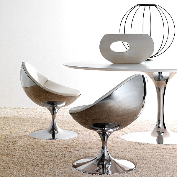 Creative metal furniture decor ideas for Contemporary metal furniture