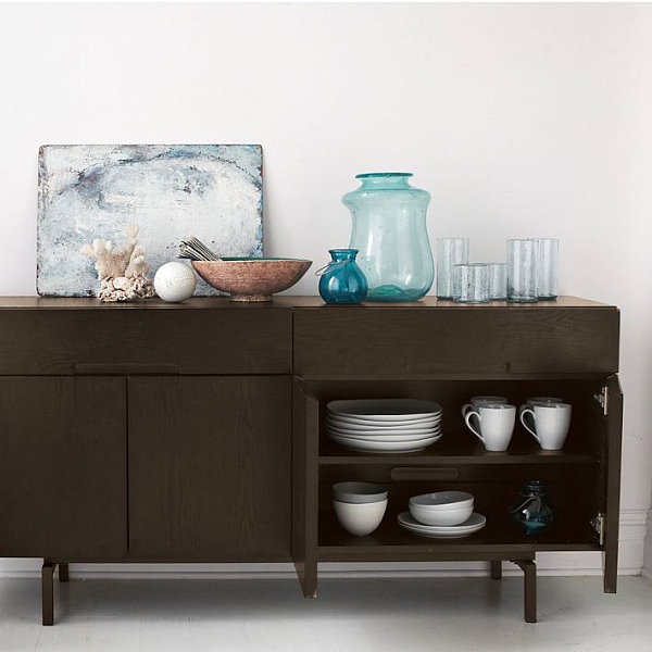 Contemporary storage console 20 Modern Credenzas with Contemporary Flair