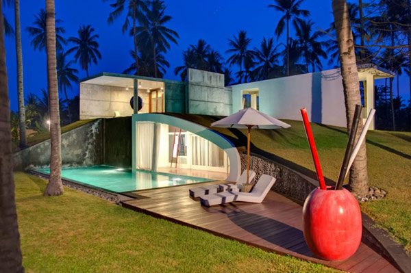 Creative contors of Villa Sapi Villa Sapi: Lavish Contemporary Getaway in Indonesia Entices With Its Scenic Splendor