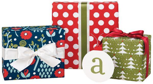 Crisp Christmas wrapping