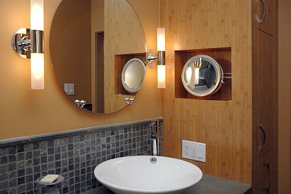 Cylindrical sconces