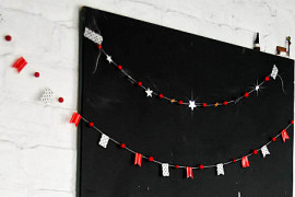 12 DIY Christmas Garlands That Celebrate Holiday Cheer