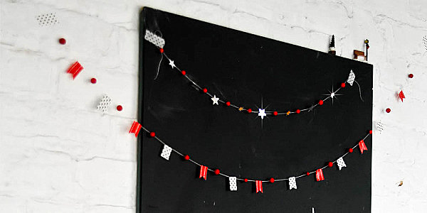 12 diy christmas garlands that celebrate holiday cheer view in gallery diy christmas garland solutioingenieria