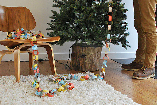 DIY Christmas tree stand