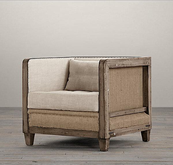 Deconstructed-armchair