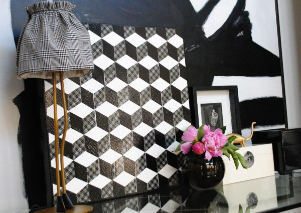 Duct Tape Art Work for gorgeous interiors