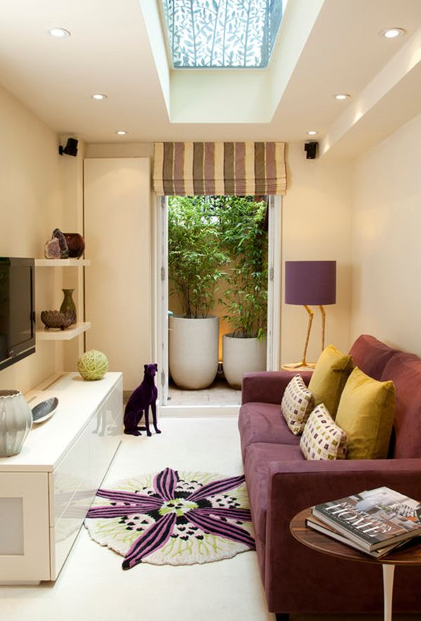 Inspirational Ideas For Living Rooms With Skylights