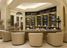 40 Inspirational Home Bar Design Ideas For A Stylish Modern Home - Home-bar-decorating-ideas