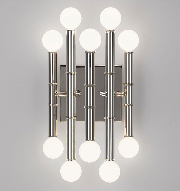 Five-arm wall sconce