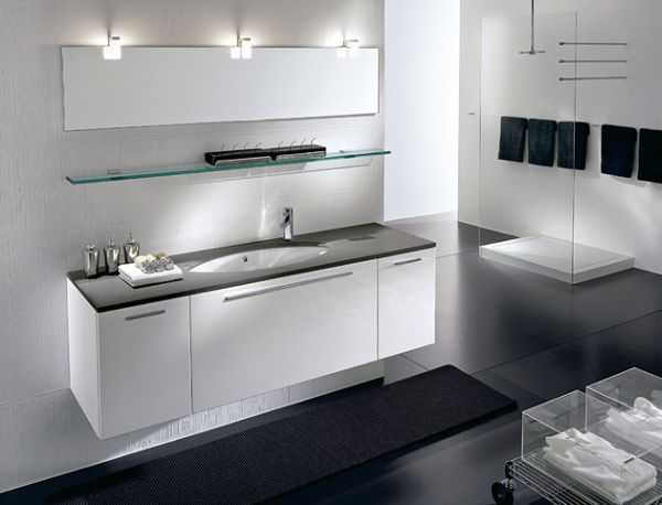 27 floating sink cabinets and bathroom vanity ideas for Contemporary bathroom sinks and vanities