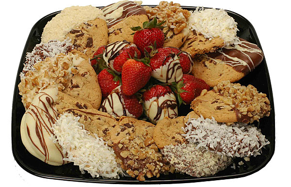 Gourmet cookie tray
