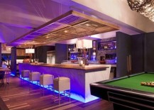 Bar Design Ideas 25 best ideas about bar designs on pinterest basement bar designs house bar and bars for home Exquisite Use Of Color And Decor Bring This Home Bar To Life