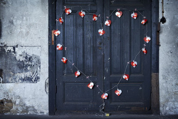 IKEA Christmas collection - hearts