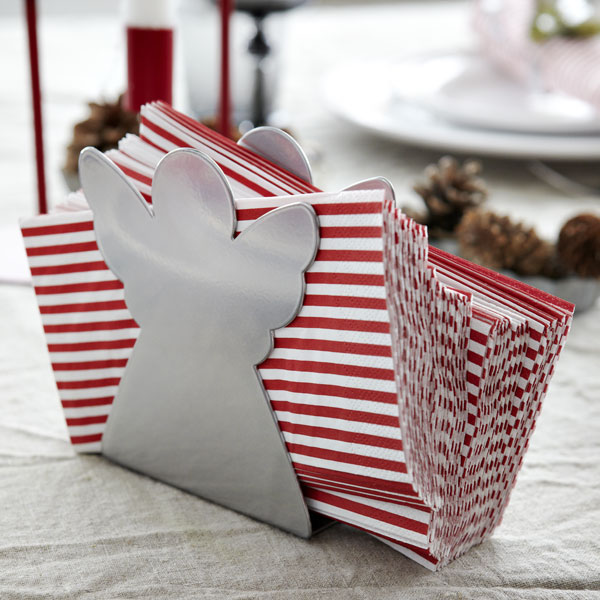 IKEA Christmas collection - red and white napkins