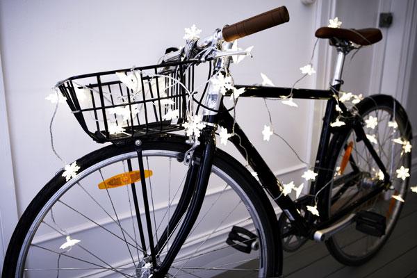IKEA Christmas collection - snowflake lights