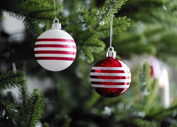 IKEA Christmas collection – tree decorations