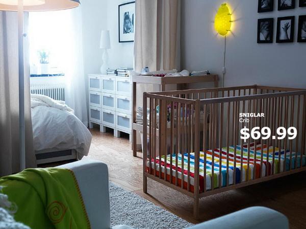 IKEA crib