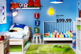 IKEA Kids Rooms Catalog Shows Vibrant and Ergonomic To Design