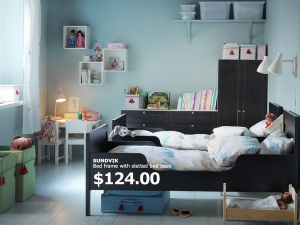 Ikea kids rooms catalog shows vibrant and ergonomic design - Toddler bedroom ideas for small rooms ...
