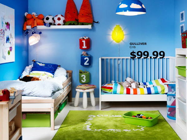 . IKEA Kids Rooms Catalog Shows Vibrant and Ergonomic Design Ideas