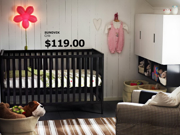 IKEA nursery room IKEA Kids Rooms Catalog Shows Vibrant and Ergonomic Design Ideas