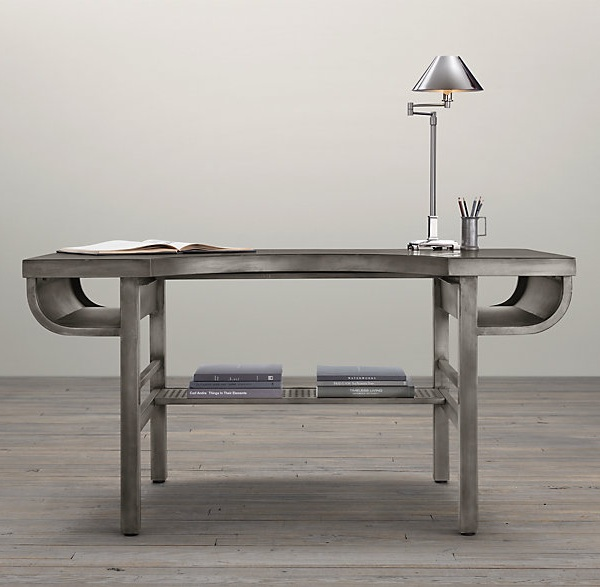 Industrial Metal Desk Decoist