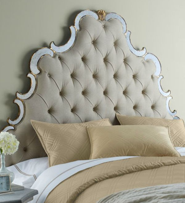 Intricate Bristol tufted headboard