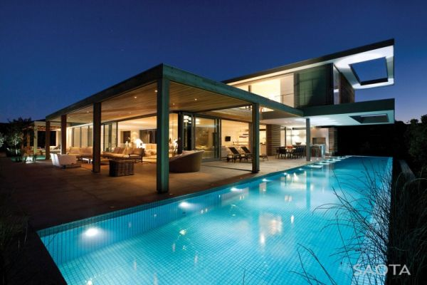 Inviting pool offers a refreshing dip