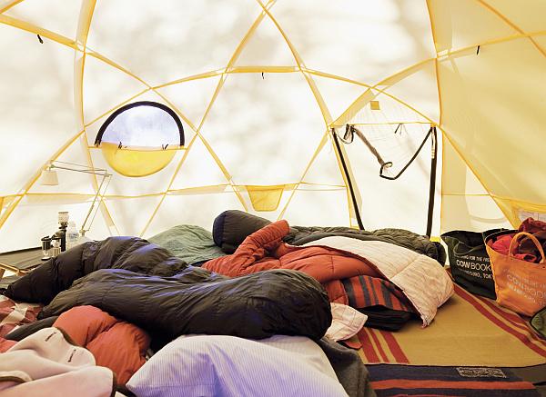 Kobayashis North Face tents