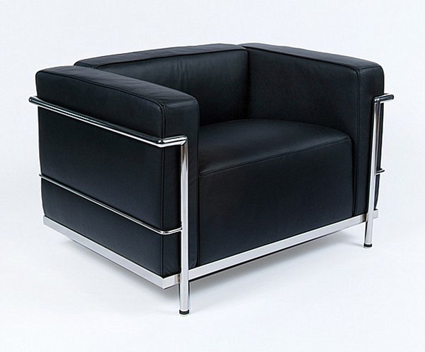 Le Corbusier LC2 Great Comfort Chair