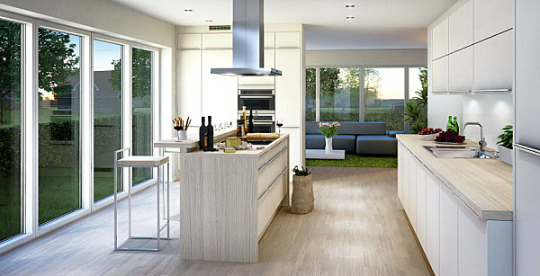 view in gallery light and airy scandinavian kitchen - Scandinavian Kitchen Design