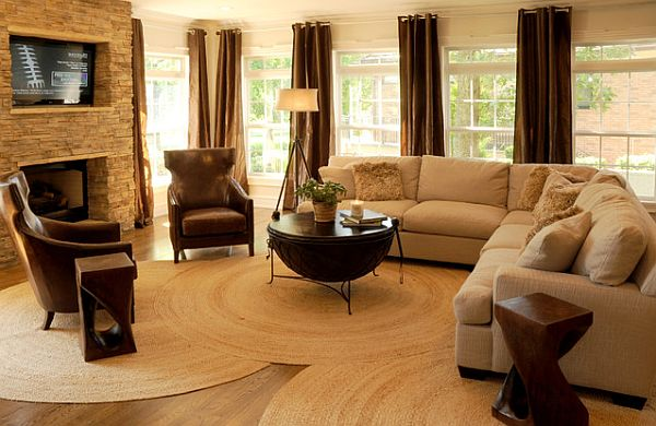 Inspiring Living Room Rug Ideas Decoration