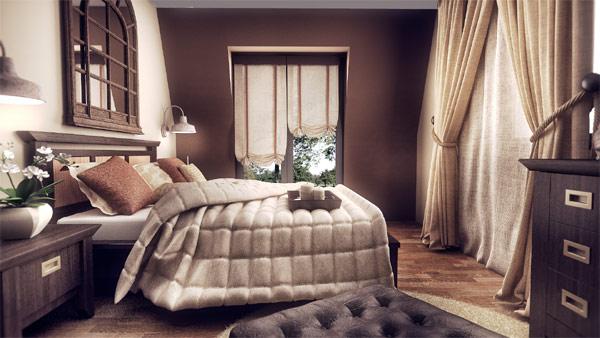Masterbedroom as envisioned by Stoica Mario