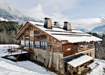 Vintage French Alps Chalet For Your Snow Filled Holidays