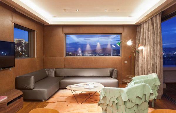 Modern interiors with sleek design