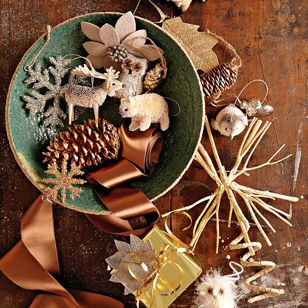Making Natural Christmas Decorations: Modern Christmas Decorating Ideas For Your Interior