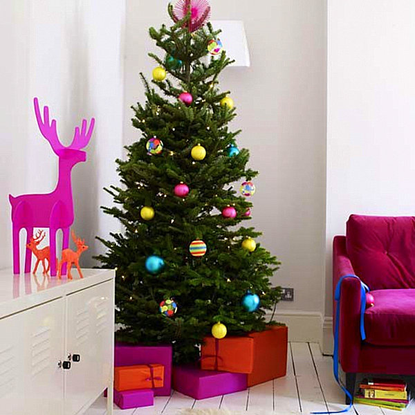 modern christmas decorating ideas for your interior - Colorful Christmas Decorations