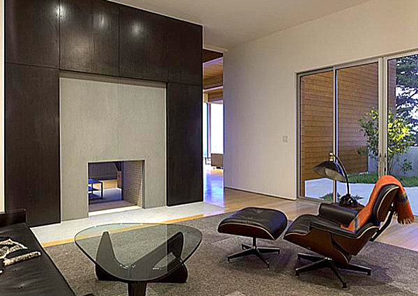 Noguchi Coffee Table in a modern living space