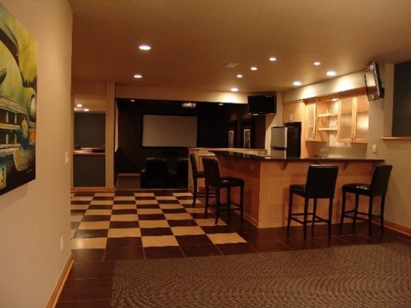 basement bar lighting. organized home bar with warm lighting basement c