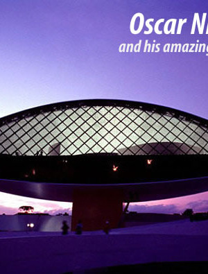Cherishing the amazing work of Oscar Niemeyer