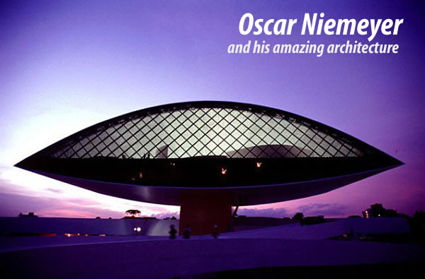 Oscar Niemeyer architecture design