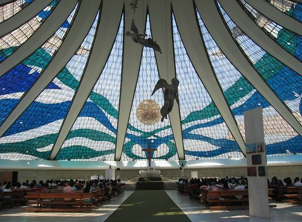 Oscar Niemeyer cathedral