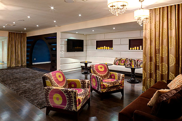 Patterned-armchairs-in-rich-tones